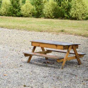 Extérieur / Coin enfant - Table bac à sable