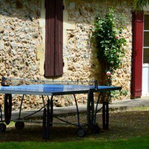 Extérieur / Côté Parc - Table de Ping Pong